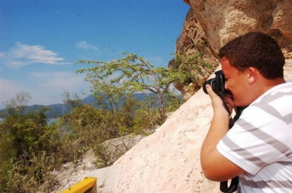 Alumnos de 3ro de media realizan recorrido por el lago Enriquillo